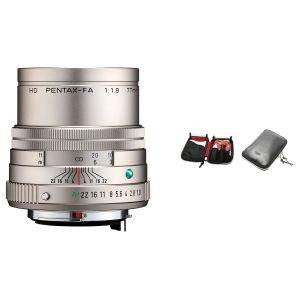 HD PENTAX-FA 77mmF1.8 Limited シルバー 長期安心サービスワイドSOMPO(5年) クリーニングセット